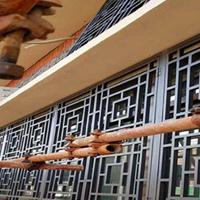 仿古铝花格-海南仿古铝屏风免费设计定制