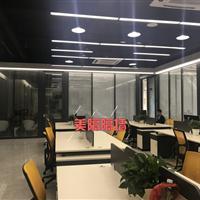 深圳宝安区铝合金玻璃隔断―屏风玻璃隔断