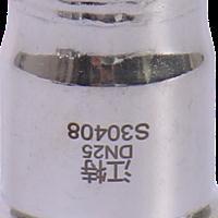 江特 家装 精品 不锈钢系列 DN25管帽