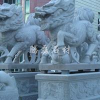 青石麒麟雕塑现货 麒麟石雕厂家腾磊