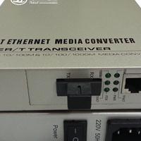 供应千兆内置插卡式光纤收发器