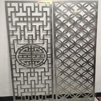佛山 焊接铝花格装潢  防盗网铝窗花订制厂家
