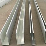 U型滚涂工艺室内吊顶铝方通 铝格栅
