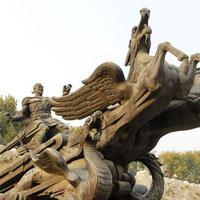 四川雕塑厂家grc水泥雕塑,假山人物定制加工设计