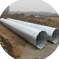 热镀锌波纹管涵   金属波纹涵管哪里的实惠  质量优质