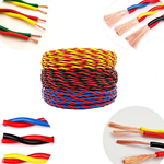供应国标电源线 RVS2*0.5软电缆 环威电缆