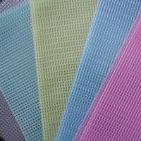 供应透明阻燃防尘夹网布