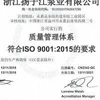 ISO9001质理管理体系认证