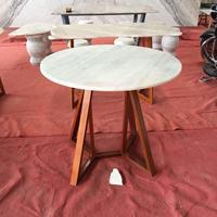 大理石厂家直销圆形天然大理石台面,大理石餐桌