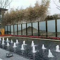 夹山水画玻璃酒店商业广场写字楼大堂适用厂家直销