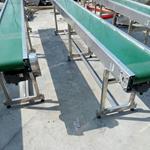 600带宽铝型材输送机规格参数  裙边食品带输送机