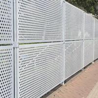 广东冲孔围挡长期供应广东冲孔围挡金属冲孔围挡临时护栏