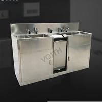 洗手烘干机两位一体水槽/三位一体水槽带感应消毒器