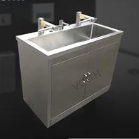 无尘车间消毒洗手台,不锈钢洗手烘干器,全自动感应洗手台