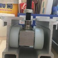 重庆活动隔段单轮双轮轨道铝型材成批出售