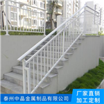 供应六合锌钢组装式楼梯扶手生产厂家安装
