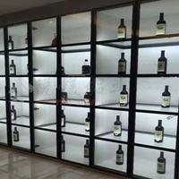 全铝家具铝合金全铝酒柜多工能组合柜  铝型材厂家