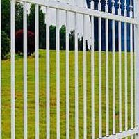 华禹护栏二横杆锌钢栅栏围墙栏杆