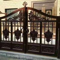 山东亚坤铝艺大门护栏,别墅庭院大门护栏,亚坤全铝家居