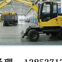 DLS885-9M小型轮胎型液压行走挖掘机