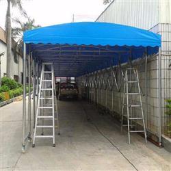 广西定制夜市摊烧烤帐篷移动折叠雨棚户外遮阳棚伸缩停车棚