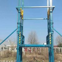 超威液壓工廠SJD1.5*3.0C型鋼液壓升降貨梯 載貨貨梯