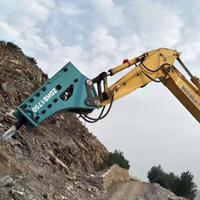 烟台浦川挖掘机专业大锤175195进口大型破碎锤优质厂家推荐
