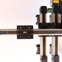 单轴上下提升机械手 精密同步带模组滑台 直线模组 单轴机械手
