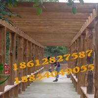 供应水泥仿木护栏制作