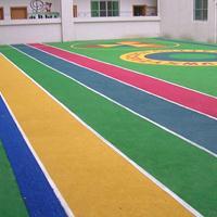 丙烯酸球场 EPDM篮球场 安全地垫 塑胶跑道 透水层跑道