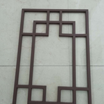 郑州写字楼铝合金窗花  格式铝合金窗    雕刻镂空铝窗花