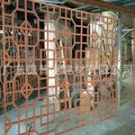 仿木纹铝花格/型材铝窗花/供应商镂空铝窗花厂家