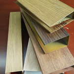 铝方通吊顶,铝方通价格,铝方通厂家复古木纹色广东德普龙