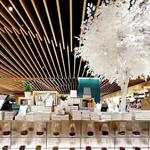 苏州商场铝方通   铝合金方管    弧形造型铝方通吊顶