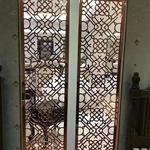 茶楼铝窗花 雕刻镂空铝窗花 花格铝合金窗花