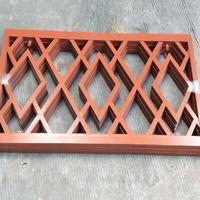 中式仿木纹铝窗花_古式铝合金窗花定制厂家
