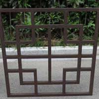 铝窗花价格-铝合金窗花厂家-新型独特仿木纹铝窗花供应商