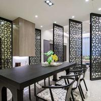 专业做餐厅 酒店的铝窗花 仿木纹铝窗花合作厂家