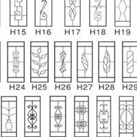 厂家专业定制氟碳铝窗花 阳台铝窗花 各种规格仿木纹铝窗花