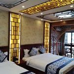 旅游酒店复古装饰花格