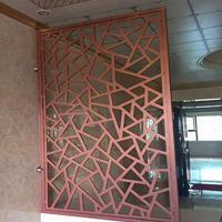 【仿古木纹铝花格】古街装饰木纹铝花格铝合金花格