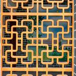 优质铝合金屏风窗花是古代文化的传承