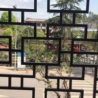 仿木纹铝窗花 古建铝窗花 复古铝窗花厂家直销