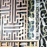 古典经久耐用特色铝合金窗花