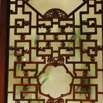 碧桂园木纹铝花格  中式复古定铝窗花定制厂家