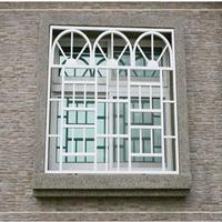 铝窗花-铝合金窗花-新型独特仿木纹铝窗花
