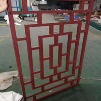 永新县街道改造仿木纹铝合金窗/铝合金花格定制供应厂家定制