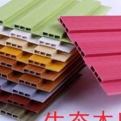 菏泽生态木300*8竹木纤维集成墙板