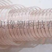 防冻耐磨钢丝管抽炕灰风机专用管pu钢丝伸缩管通风除尘软管pu风管