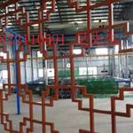仿古铝合金窗花|U形铝方通厂|铝天花|广东德普龙建材有限公司